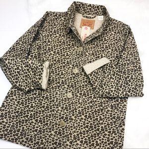Levi Strauss & CO. Animal Printed Denim Jacket.